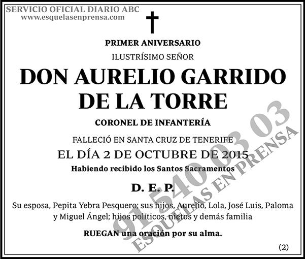 Aurelio Garrido de la Torre
